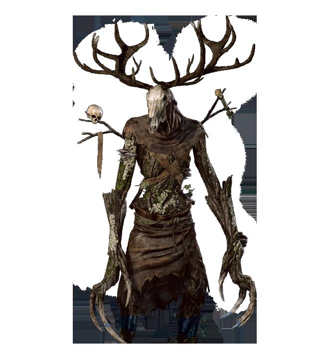vector transparent library drawing deer monster #111722871