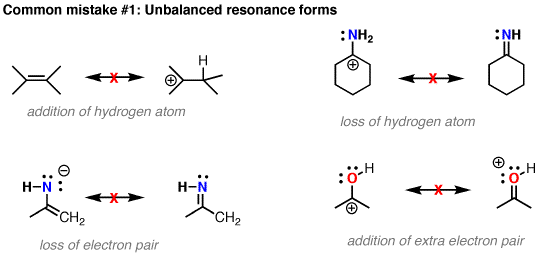 picture royalty free How not to draw curved arrows in organic chemistry