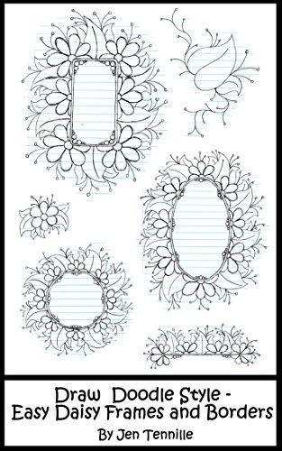 clipart Draw doodle style easy. Drawing frames.