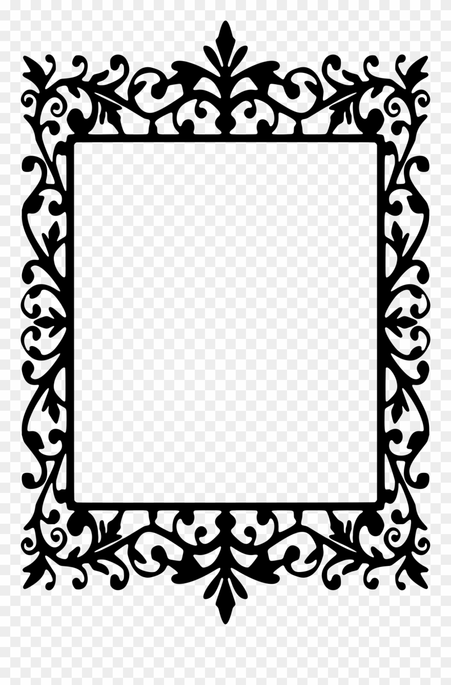 svg free Clip art transparent library. Drawing rectangle frame