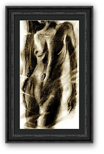 svg freeuse library Artist original framed art. Drawing prints paintings