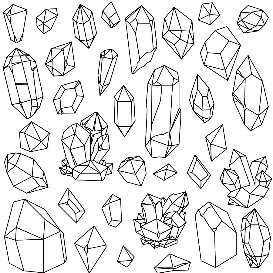 png library stock . Gems drawing.
