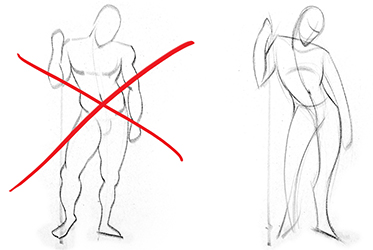 vector royalty free download Drawing gesture. How to draw proko.