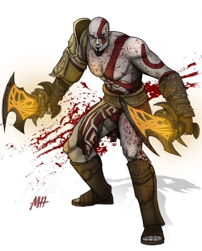 banner freeuse stock Drawing god kratos. Of war by matthewhogben