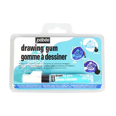 clip black and white library Drawing gum. Marqueur p b o.
