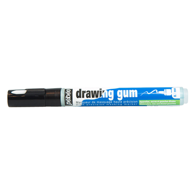 stock Marqueur p b o. Drawing gum.