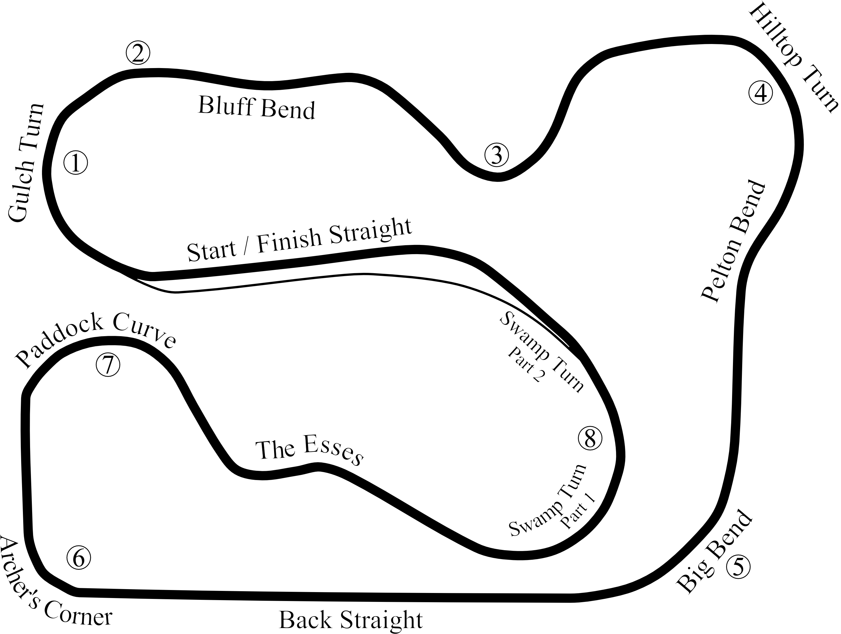 graphic freeuse stock File waterford road racing. Drawing hills
