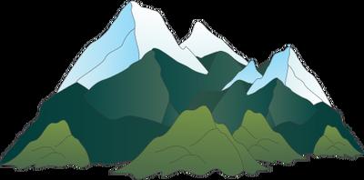 graphic free download Mountain Range Drawing