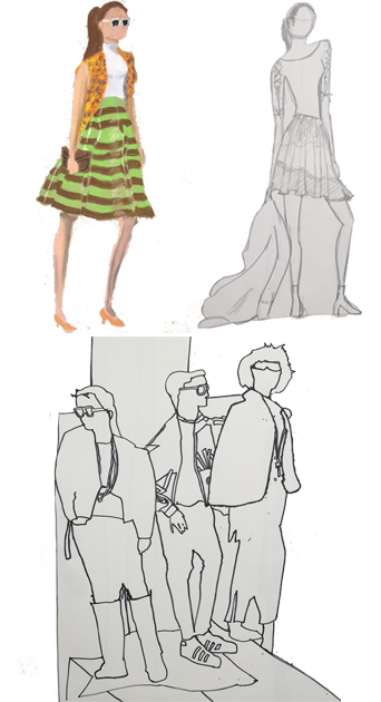 png library Fashion Illustration