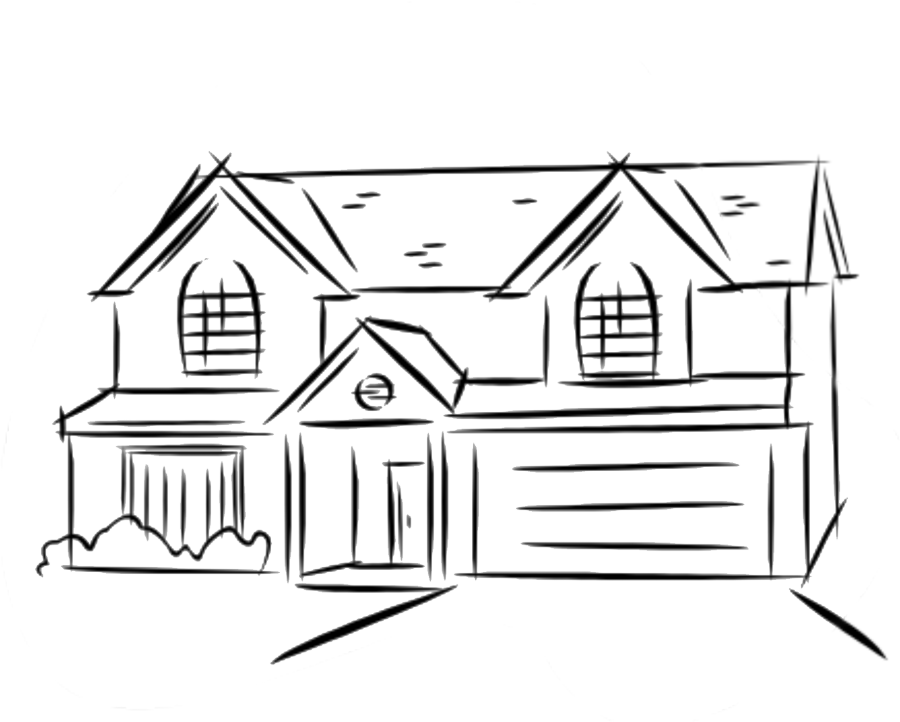 vector free download Fabulous simple home sketch. Hillbilly drawing shack