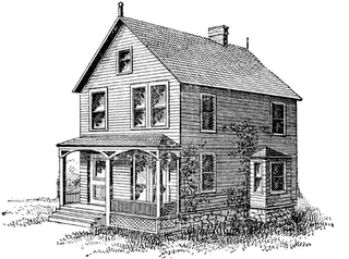 clipart royalty free library Old Farm House