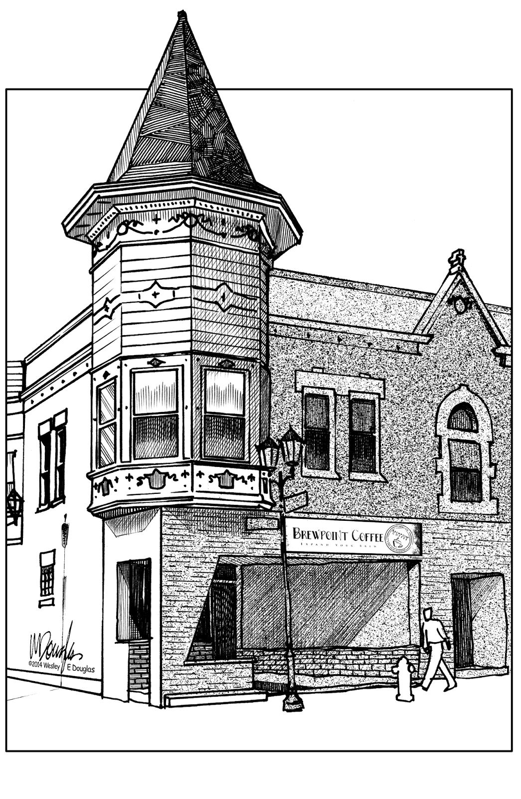 svg library stock Urban Sketchers Chicago