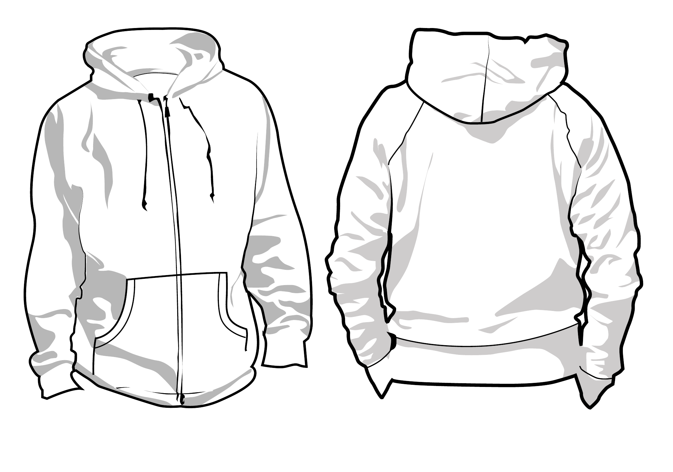 svg library stock Sweatshirt at paintingvalley com. Drawing sweaters hoodie