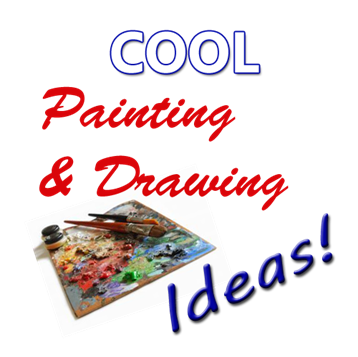 clipart freeuse stock Cool and painting ideas. Drawing ides creative