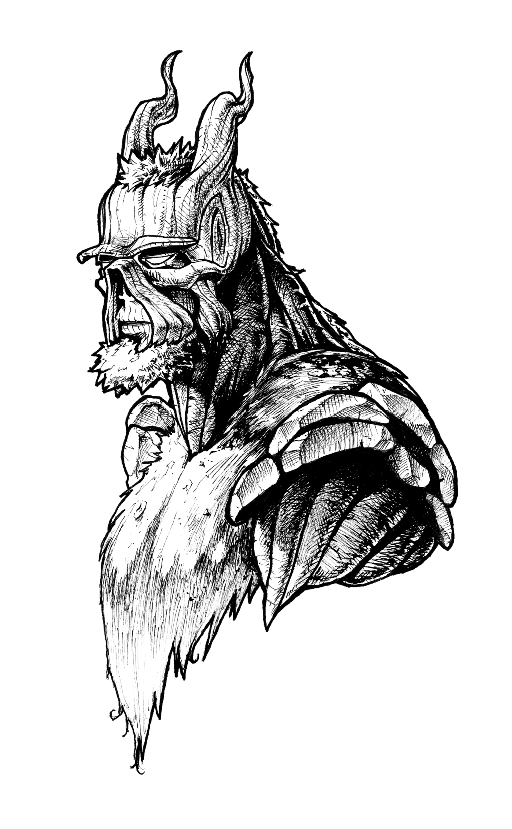 png stock Blindfold drawing ink. Swamp thing by rayluaza