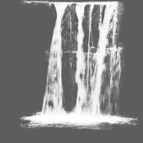 graphic library download Paintbrush Waterfall Ink brush