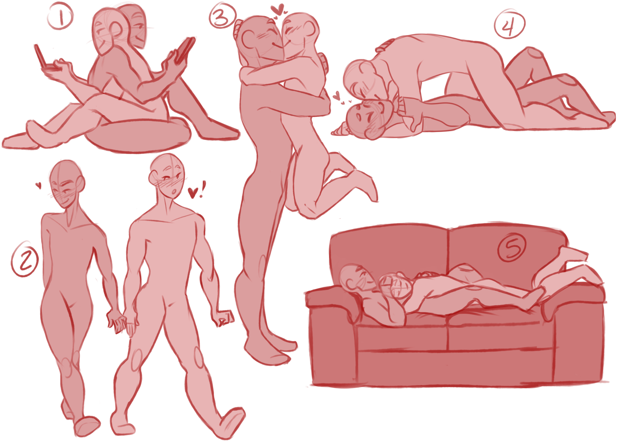 vector library stock Drawing pain poses. Modelos de bocas para