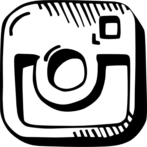 picture black and white stock drawing logos instagram #95123919