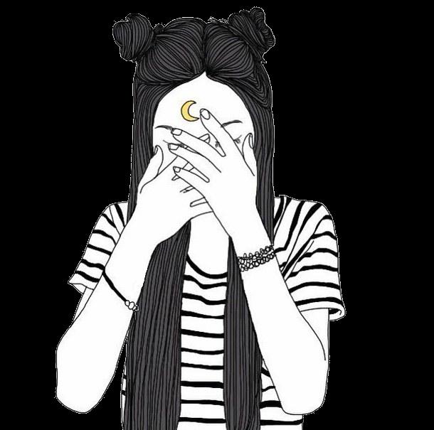png freeuse tumblr girl w buns