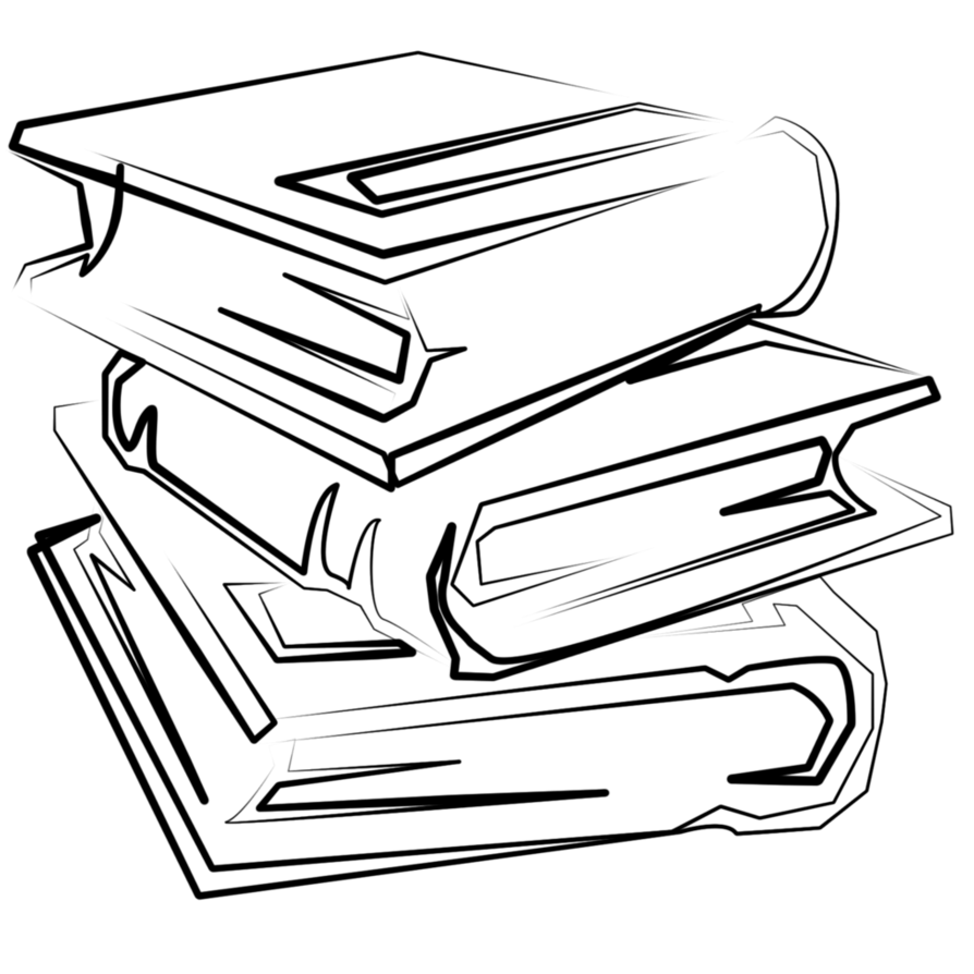 banner freeuse Collection of free drawing. Bookshelf vector hand drawn