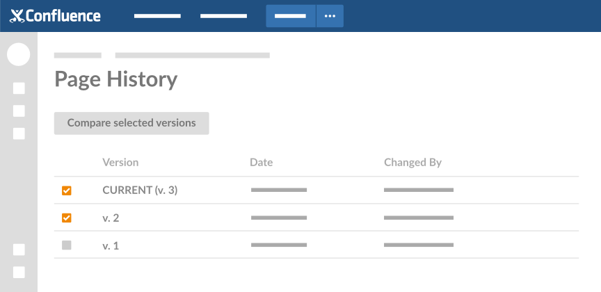 black and white library Confluence Integration