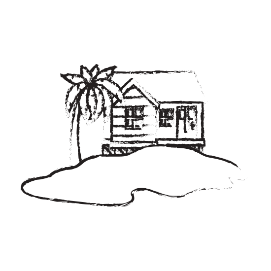 png free stock Drawing island clipart