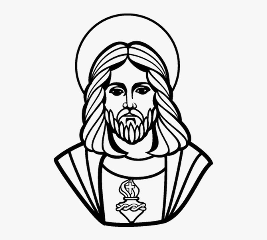 clip stock Catholic church free transparent. Drawing jesus