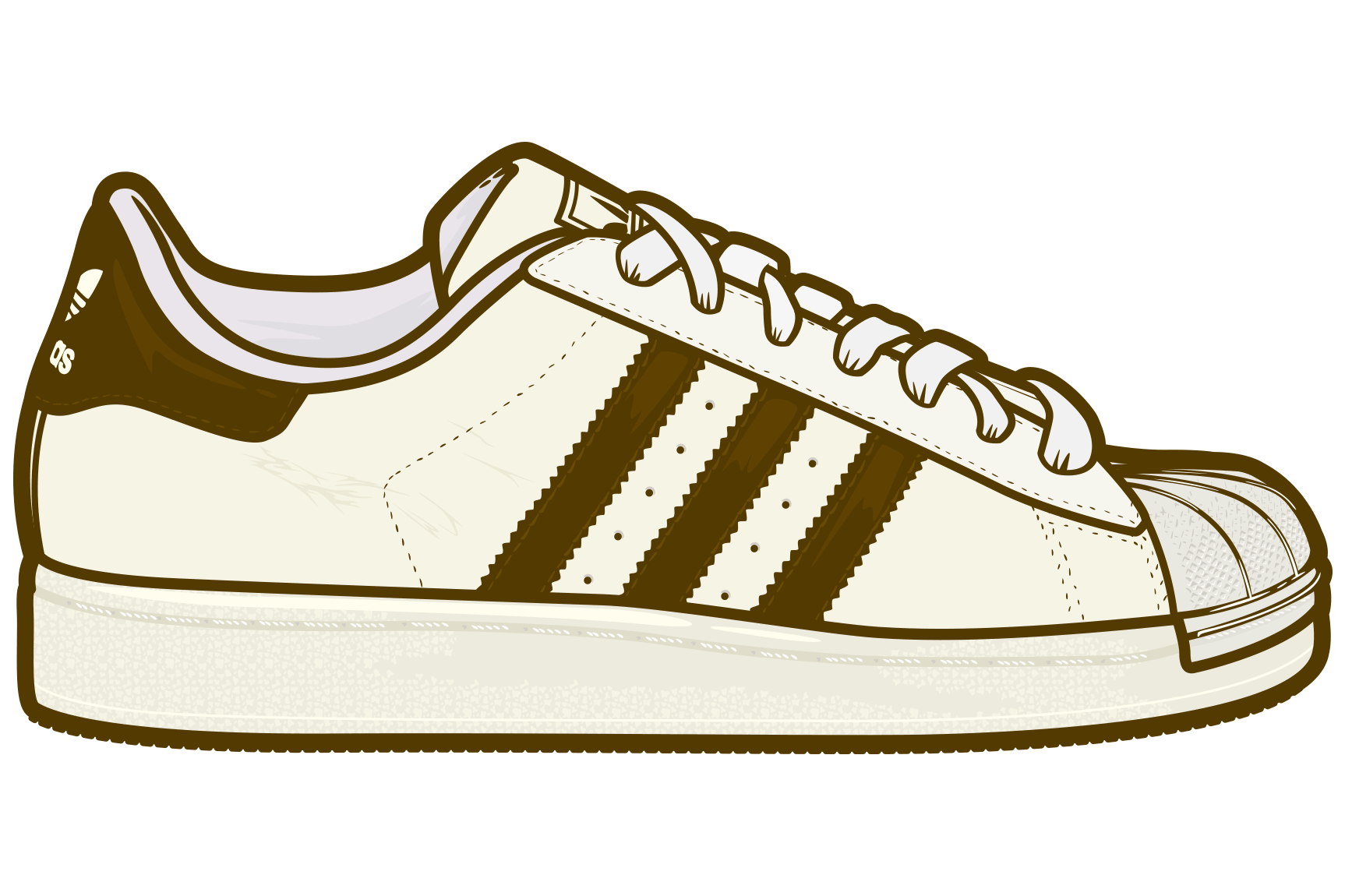 picture royalty free ADIDAS Superstar II