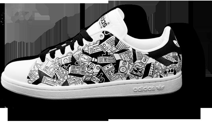 clip art freeuse stock Look Down Custom Sneakers
