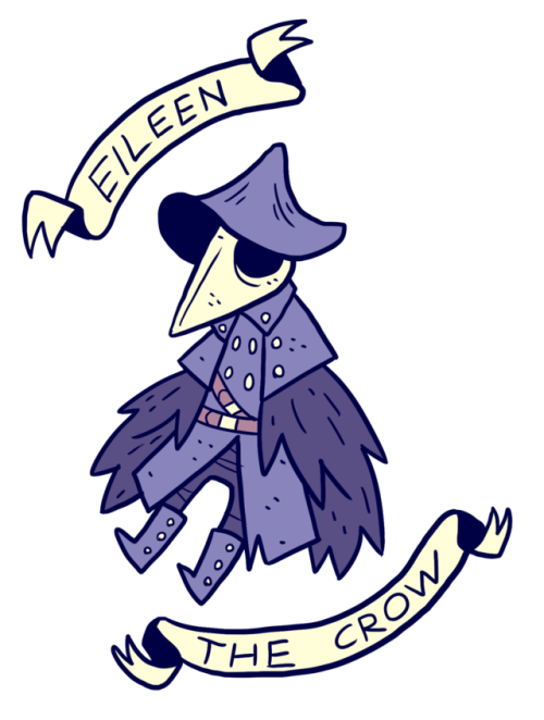 clip freeuse stock Eileen the crow by. Bloodborne drawing demon