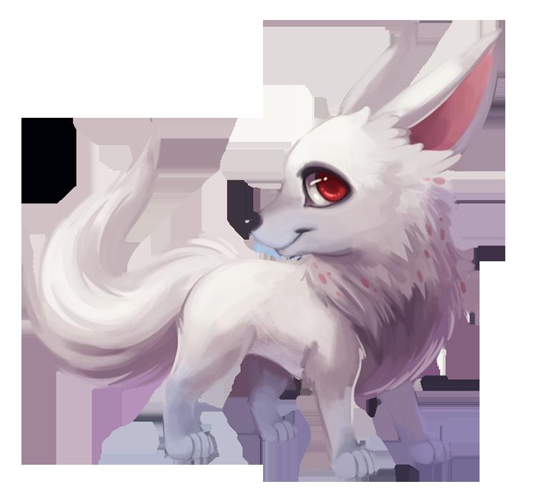 vector freeuse download Drawing kawaii arctic fox. Wolf idea transprent png