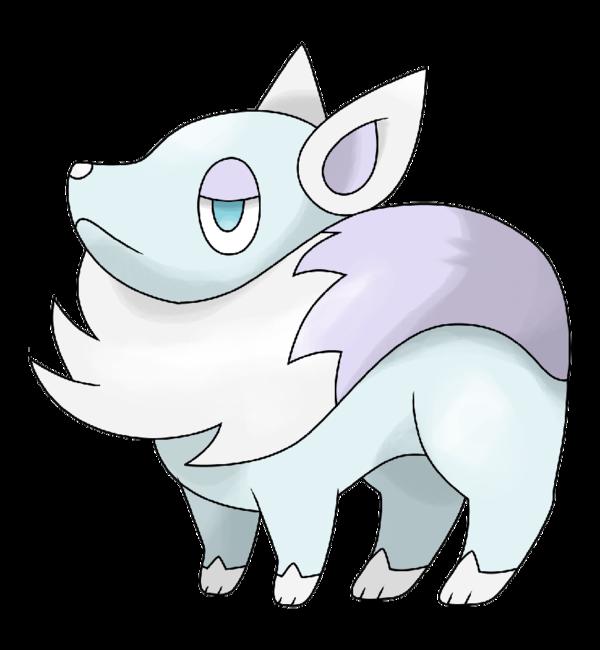 svg stock Drawing kawaii arctic fox. Png cute transparent images