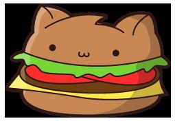png freeuse download Drawn burger kawaii