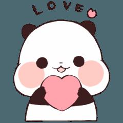 png royalty free download Love Love Yururinpanda Sticker