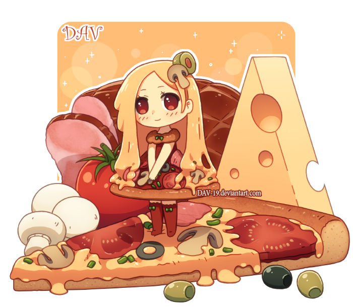 vector royalty free download Pizza by DAV