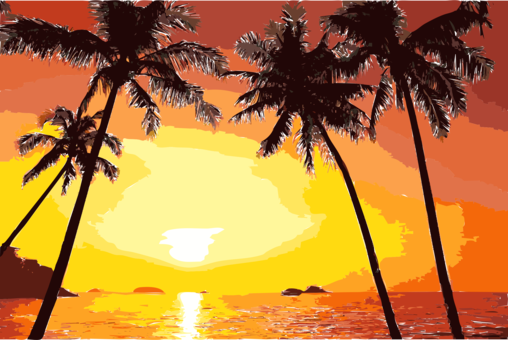 image royalty free stock Drawing Sunset Computer Icons Silhouette Sunrise free commercial