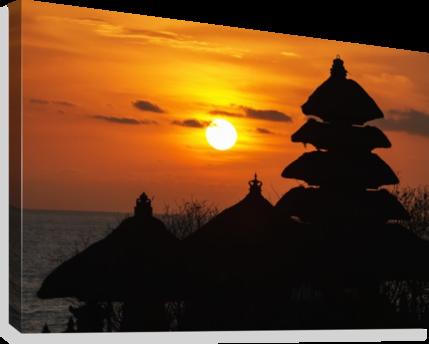 jpg transparent download Tanah Lot Temple at sunset