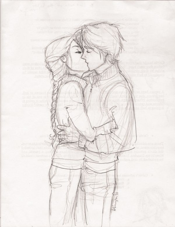 png stock Drawing pic romantic. Cool drawings couple pencil