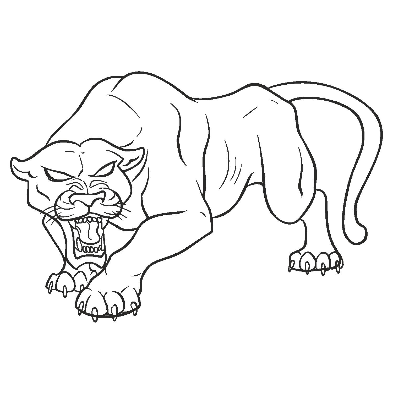 clipart transparent download Black jaguar leopard transprent. Tail drawing panther