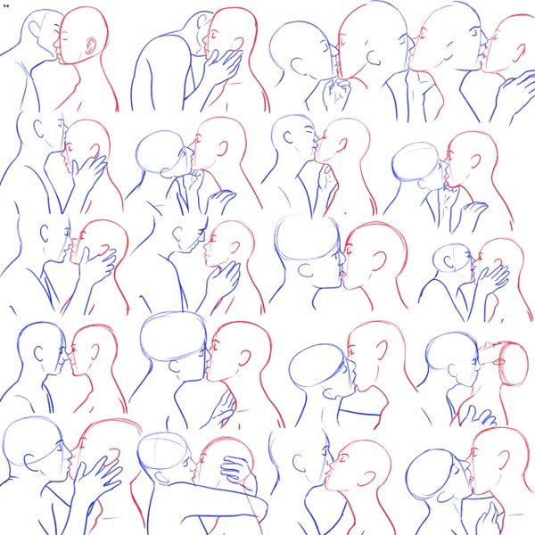 clip library stock  mer twitter in. Drawing kisses poses