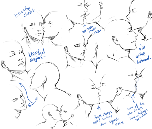 freeuse Reference kissing ii and. Drawing kisses poses.