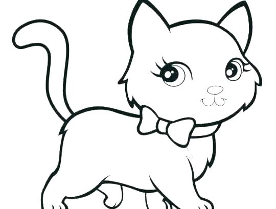clip art royalty free download Cat And Kitten Drawing
