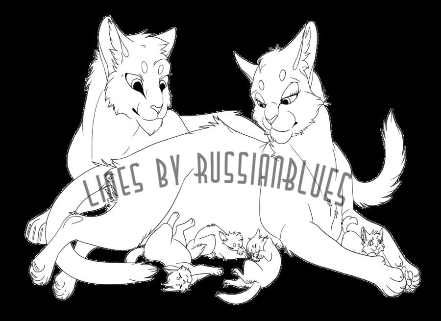 clip art transparent download Cat Family Base