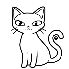 clipart download Outline Drawing Of A Cat at GetDrawings