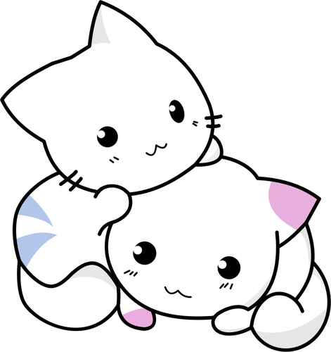 picture freeuse library Cute Kittens Drawing at GetDrawings
