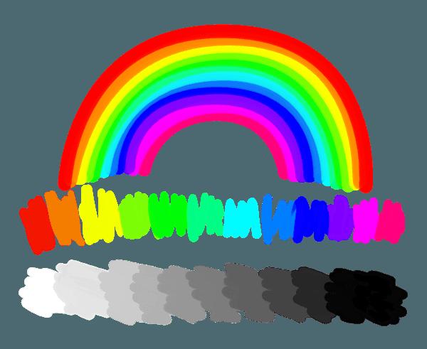 graphic transparent Colors