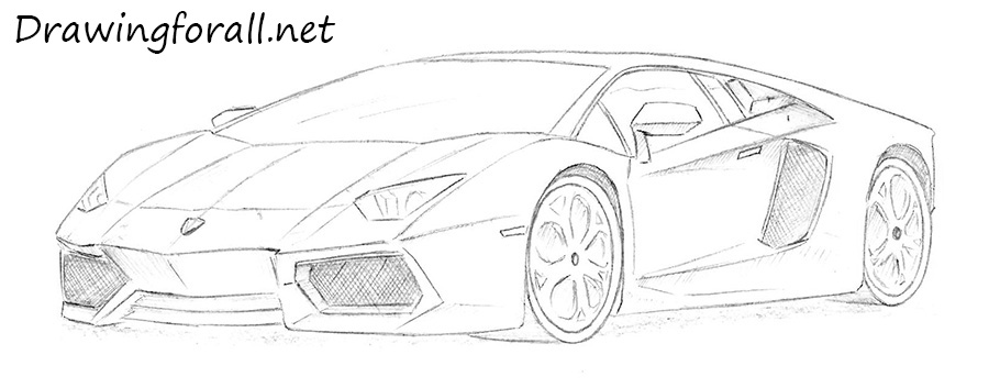 vector transparent stock How to draw a. Drawing lambo.