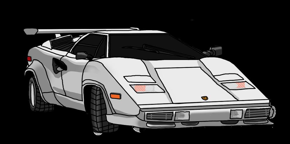 png free stock Lamborghini Countach