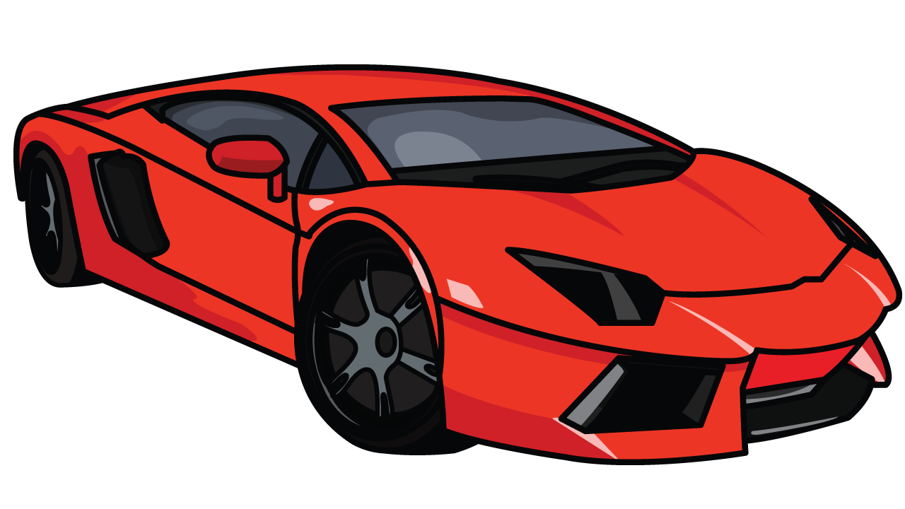picture royalty free stock How to Draw Lamborghini Aventador