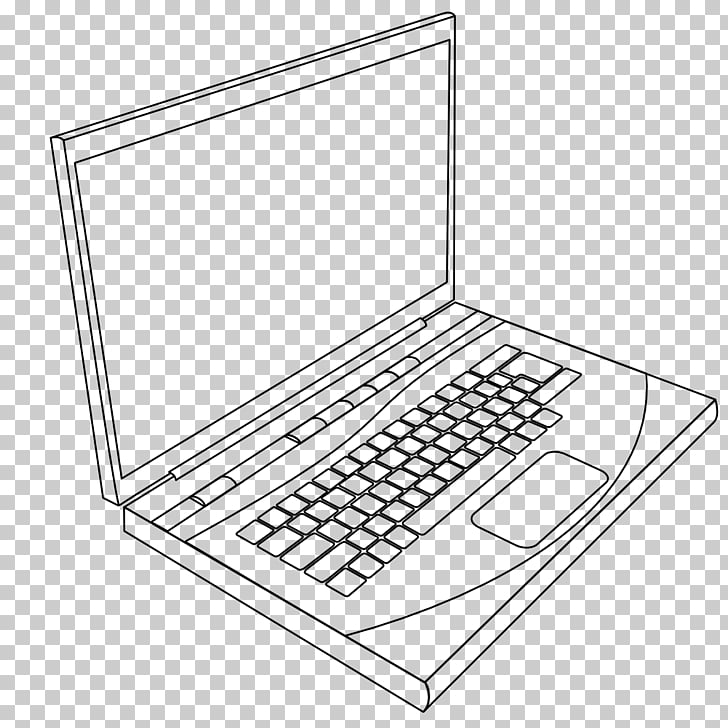 clip download Laptop line art black. Drawing laptops illustration